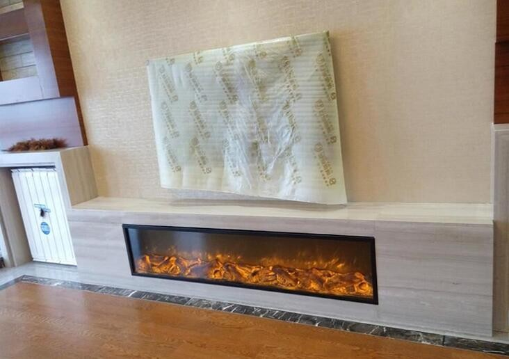 1500*400*220MM instert electric fireplace with remote control napoleon 72 in electric fireplace insert with glass