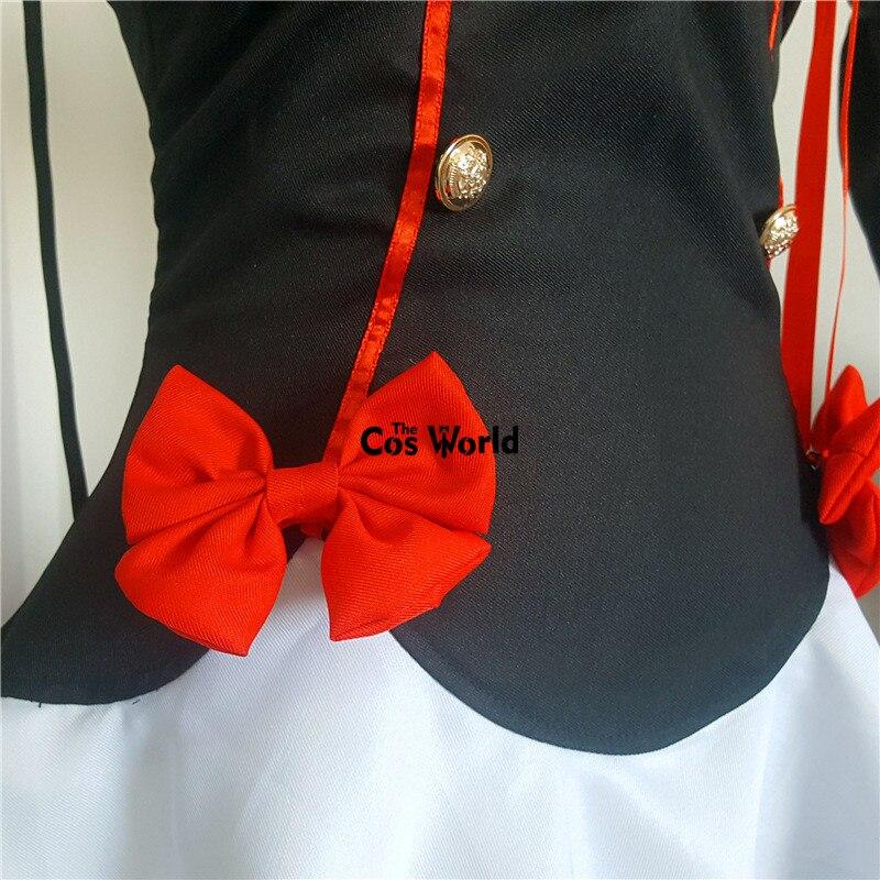 Платье для Хэллоуина Owari no Seraph Of The End, костюм для косплея