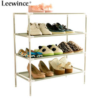 Leewince Shoe Cabinet Non Woven Shoes Racks Storage Large Capacity Home Furniture DIY Simple Dustproof Shoe