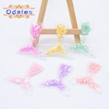 12Pcs Sequins Mermaid Tail Hair Clips for Girls Cute Hair Accessories Baby Girl Hairpins Children BB Hairpins Barrettes