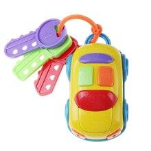 Музыкальный автомобиль игрушка-ключ ребенка раннего образования дети ролевые игры смешные развивающие игрушки