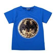 Детская футболка 2019 летняя мультяшная удобная детская одежда