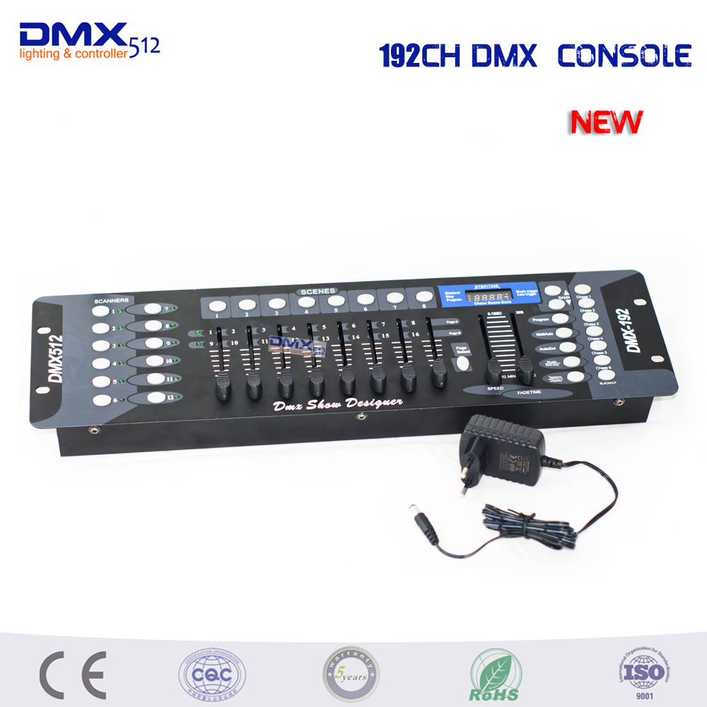 192 DMX Controller Stage Lighting Console Dj Equipment Dmx Console Par Moving Head Spotlights Dj Controller купить