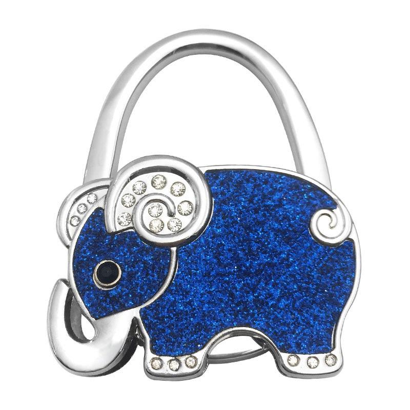 new style handbag hook elephant purse holder desk anti slip tote bag hanger wall hooks portable. Black Bedroom Furniture Sets. Home Design Ideas
