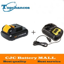 High Quality power tool Battery For Dewalt 12V 2.0Ah 2000mah MAX Li-ion DCB120 DCD710 DCF813 DCF815 DCF610+charger