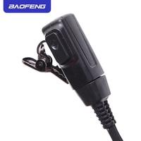 uv 5r Baofeng PTT מיקרופון האוויר אקוסטית Tube אפרכסת מכשיר הקשר Headset לקבלת Kenwood Baofeng UV-5R 888S UV6R H777 RT22 RT80 C9003 (3)