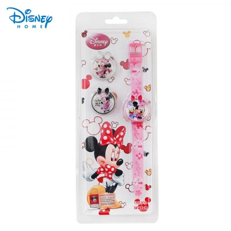 100-Genuine-Disney-Minnie-Brand-Watch-Fashion-children-Cartoon-Watches-3-minnie-design-cover-for-choose