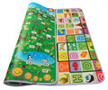 10MM Thicknss Double Side Baby Crawling Carpets Fruit Letters+Animal Zoo Infant Play Mats Gym Rugs Toddler Picnic Mats BP-125