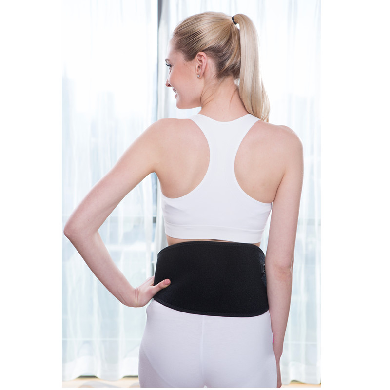 USB Heating Electric Pad Low Back Support Waist Heating Pad Slimming Heating Electric Belt Hot Therapy Pain Relief  Muscle