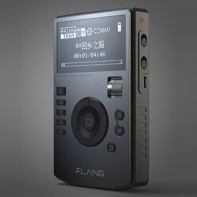 2019 Flang V5 HIFI Player Professionelle Verlustfreie Musik MP3 Musik Tragbare Stereo MP3 Mit 4452VN DAC Unterstützung FLAC DSD