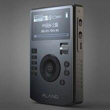مشغل Flang V5 HIFI لعام 2019 مشغل موسيقى MP3 بدون فقدان احترافي موسيقى MP3 محمولة ستيريو MP3 مع 4452VN DAC يدعم FLAC DSD