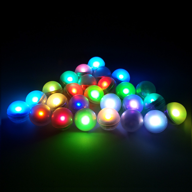 Whole 120pieces Lot Battery Operated Mini Led Party Light Fairy Pearls Wedding Decoration Coloured Lights