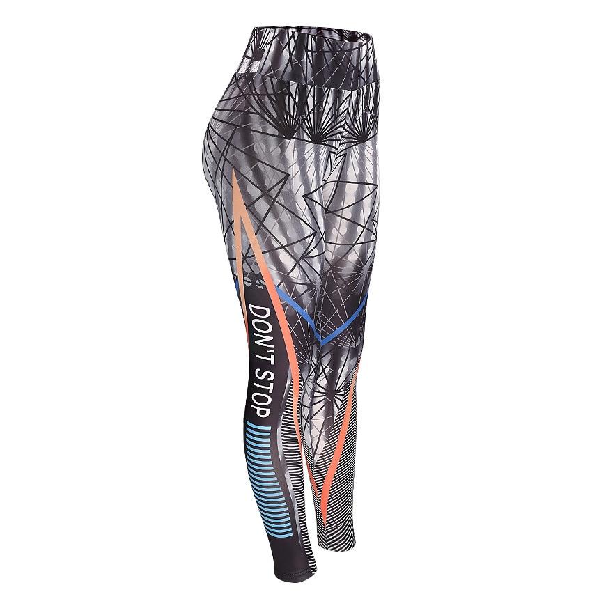 Fitness Women Leggings 3D Printed Slim Jeggings High Waist Sporting Leggings Elastic Skinny Long Pants 4