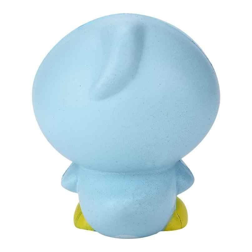 9 см тонких листов Kawai, рисунок из мультфильмов пингвина ароматизированный мягкий Шарм медленно распрямляющийся мягкий игрушка Шарм снимает стресс беспокойство детские игрушки для детей