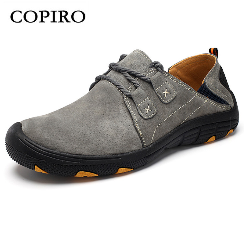 COPIRO Clorts Lace Up Outdoor Hiking Shoes Men Sneakers Breathable Scarpe Trekking Donna Montagna Waterproof Sapato