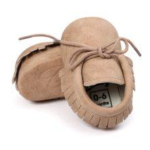 e949978102358 Printemps bébé chaussures PU cuir filles chaussures pour filles bébé  chaussons bébé mocassins mode frange premières