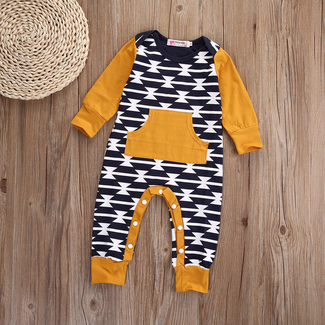 Newborn Baby Girls Boys Clothes Long Sleeve Jumpsuit Romper Casual Cotton Clothing Warm Autumn 0-18M baby climb clothing newborn boys girls warm romper spring autumn winter baby cotton knit jumpsuits 0 18m long sleeves rompers