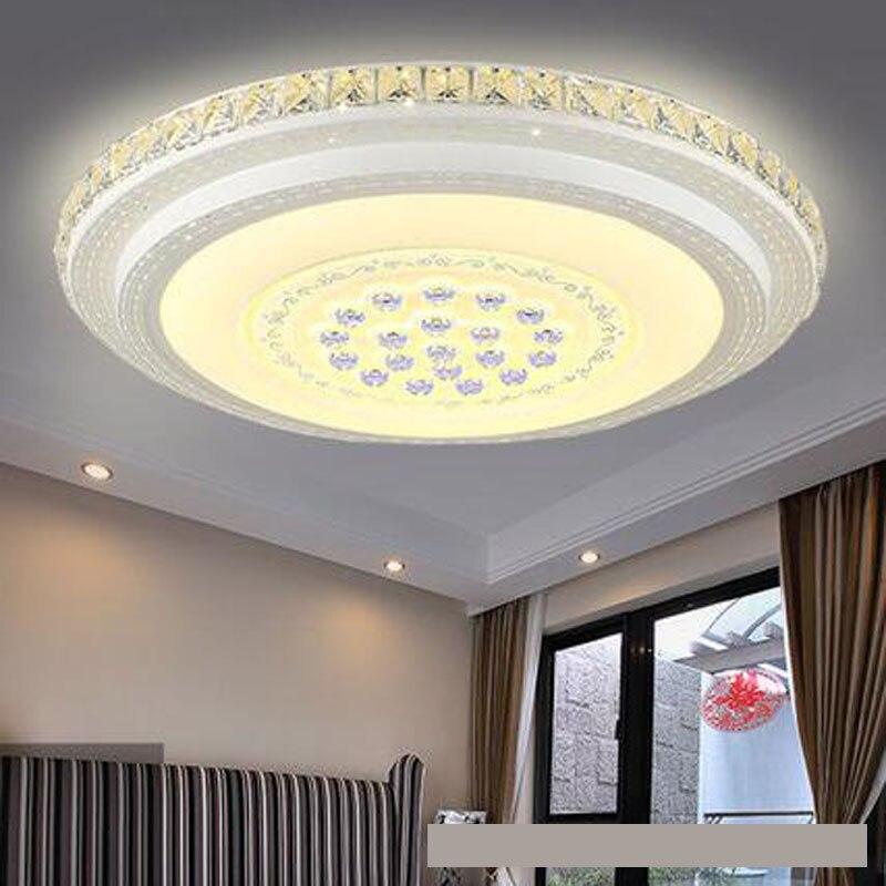 US $159.72 56% OFF Wohnzimmer leuchtet rechteckigen luft geführt kristall  deckenleuchte schlafzimmer leuchtet runde moderne einfache restaurant ...