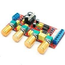 DIY kit NE5532 przedwzmacniacz HIFI przedwzmacniacz tablica dźwiękowa zestawy Treble Alto Bass regulacja głośności dla głośników wzmacniacza