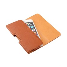 Lichee Pattern Belt Clip Pouch Cover Case for LG L30 / L35 / T580 3.2″ PU Leather Smartphone Bags