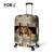 FORUDESIGNS Moda Animal Impressão Bagagem Covers para 18-28 Mala De Viagem Animais Acessórios Elastic Bagagem Capa Protetora