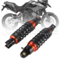 "Universal 9.25"" 235mm Motorcycle Air Shock Absorber Rear Suspension Spring Damper Replacement For Yamaha Red&Black D30"