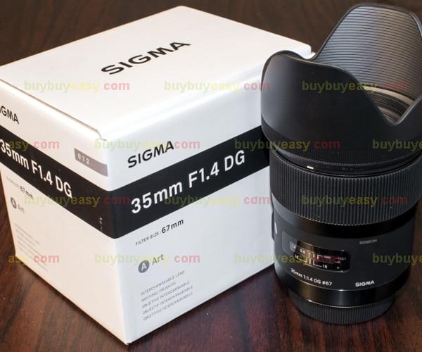 9e46209a385c3 Sigma 35 mm F1.4 DG HSM Lens arte para Canon em Lente da câmera de ...
