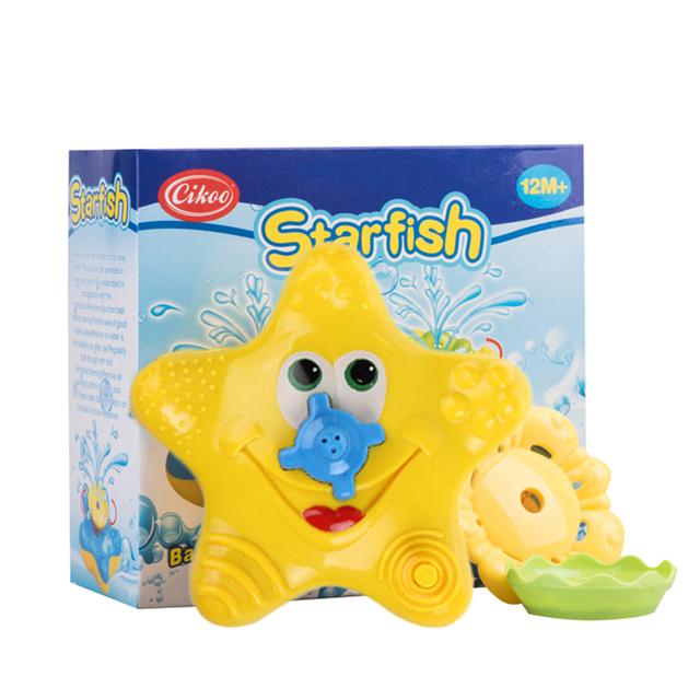 New Hot Cikoo Elétrica Banho de Água de Pulverização Stelleroid Ferramenta Para Crianças Crianças Banho Engraçado Stelleroid Grandes Brinquedos Da Água