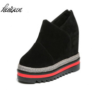 Woman Shoes 12 Cm High Heels Platform Casual Free Shipping Of Wedge Casual Shoes Fitness Shoes