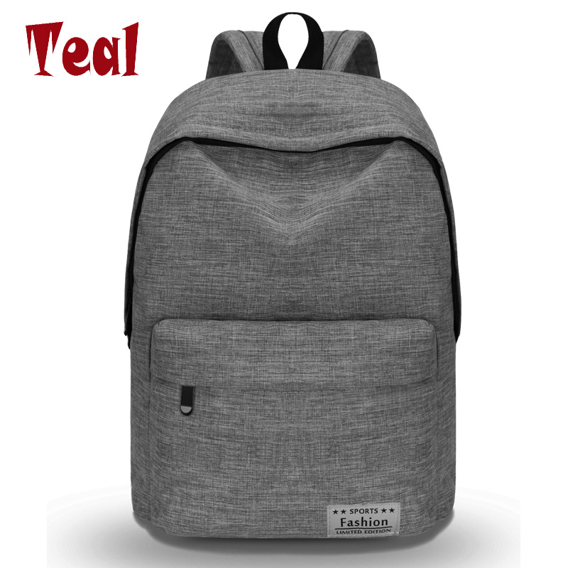 New simple shoulder bag male and female high school student bag large capacity travel backpack college wind computer bag leisure large capacity kids school backpack for primary student school bag girls and boys waterproof backpack high quality travel bag