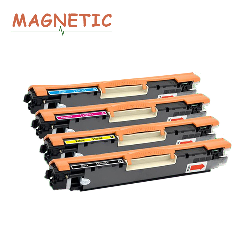 4colors CE310A CE311A CE312A CE313A Compatible Toner Cartridge For HP LaserJet Pro CP1025 1025nw M275mfp M175a M175nw ce310a 4pk ce310a ce311a ce312a ce313a compatible color toner cartridge 126a for hp laserjet cp1025 cp1025nw m275mfp m175a m175nw