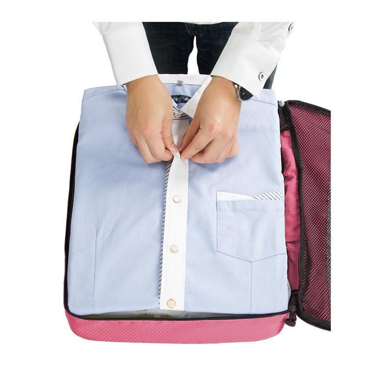 WORTHFIND Travel Bag 4 Set Packing Cubes Bagage Packing Arrangörer - Väskor för bagage och resor - Foto 2