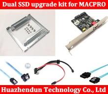Dual SSD upgrade RAID kit for MACPRO 1 1 5 1 inclued dual ssd tray sata