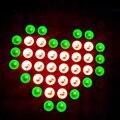 3.8*3.8 cm LED 8x8 Red & Green Dual Color Dot Matrix Display Módulo TM1640