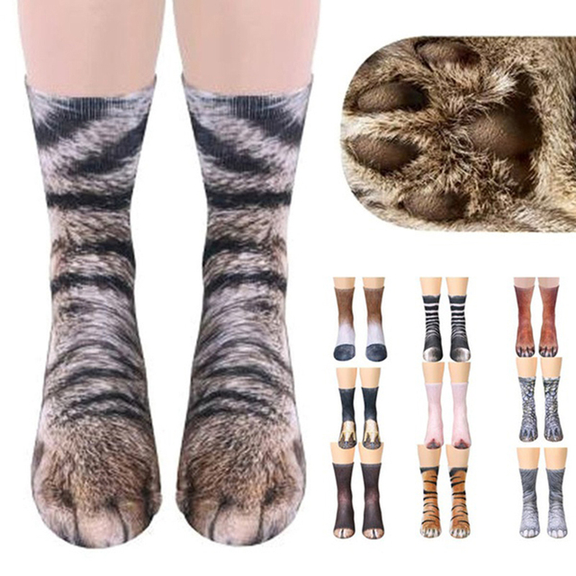 Fantastic Animal Paw Socks 1