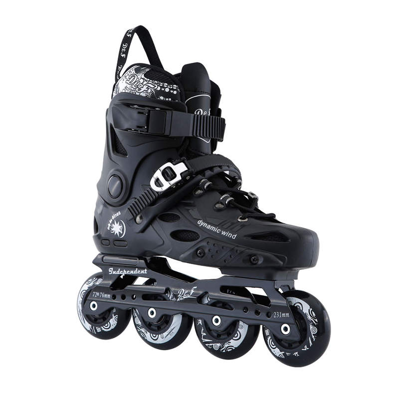 Roller skates for adult,FSK slalom sliding inline skates professional,PU roller aluminum alloy frame quad skates shoes,IA54 professional long track ice blade 330mm 380mm 430mm 7075 alunimium alloy base frame for kids ice speed skates and adults