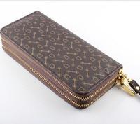 Women Wallet Female Double Zipper Purse Wallets Women S PU Multiple Cards Holder Womens Credit ID
