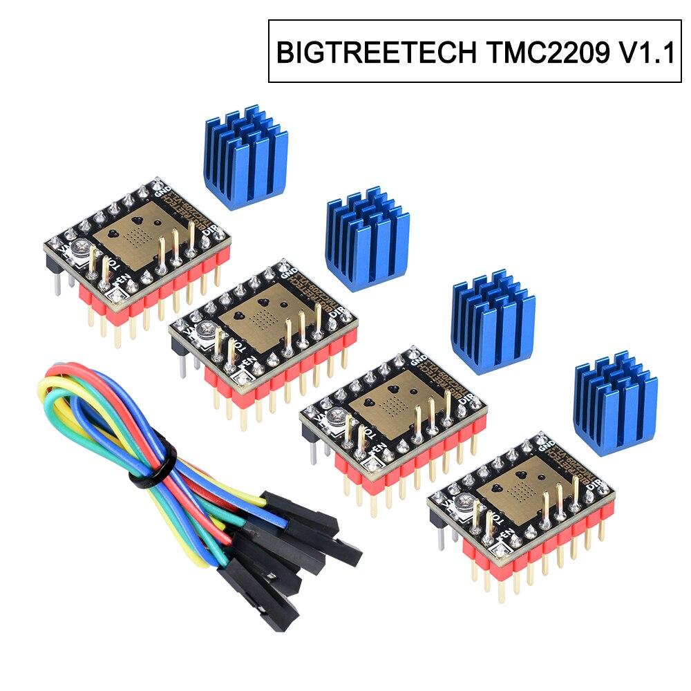 mais-recente-bigtreetech-tmc2209-v11-stepsticks-driver-de-motor-de-passo-motorista-uart-256-28a-pico-3d-pecas-da-impressora-vs-tmc2208-terno-skr