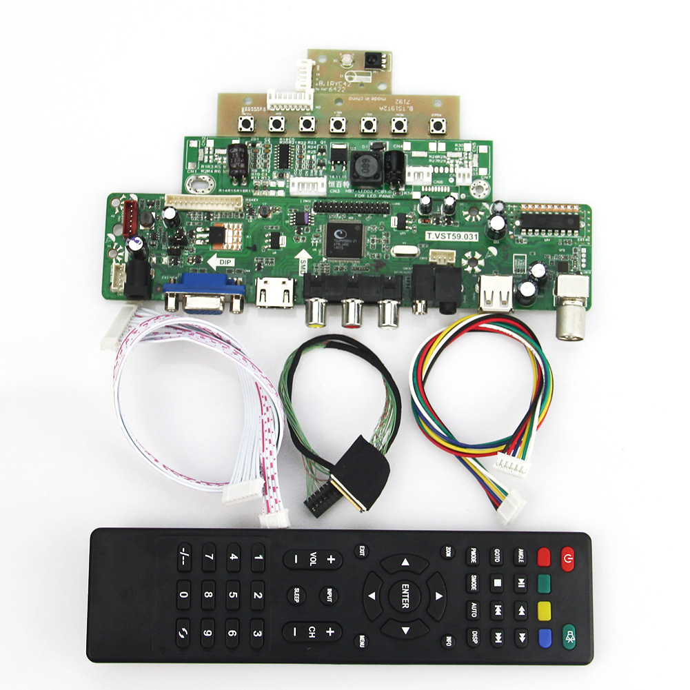 Für Lp133wx3-tla6 Ltn133at09 Lvds Wiederverwendung Laptop 1280x800 Eine VollstäNdige Palette Von Spezifikationen Vst59.03 Lcd/led Controller Driver Board tv + Hdmi + Vga + Cvbs + Usb T