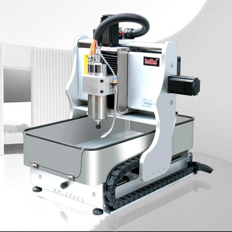 ЧПУ небольшой гравировальный станок высокой точности обработки, сверления и фрезерования станок деревообрабатывающий Джейд металла 2030