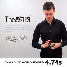 the valk3 magic cube 3x3x3 speed Magic Mofangge 56mm Competition Cubes Toy WCA Puzzle Cube magnetic cubo magico