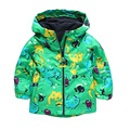 LZH Boys Hooded jacket For Girls Raincoat Jackets Kids Warm Outerwear & Coats Children's Coat 2017 Spring Autumn Baby Girls Coat