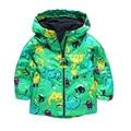 LZH Boys Hooded jacket For Girls Raincoat Jackets Kids Warm Outerwear & Coats Children's Coat 2017 Spring Autumn Baby Girls Coat