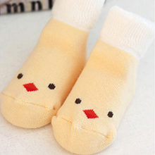Infant Baby Cotton Socks Kids Children Thick Warm Cartoon Ankle Multi Color Blanket(China)