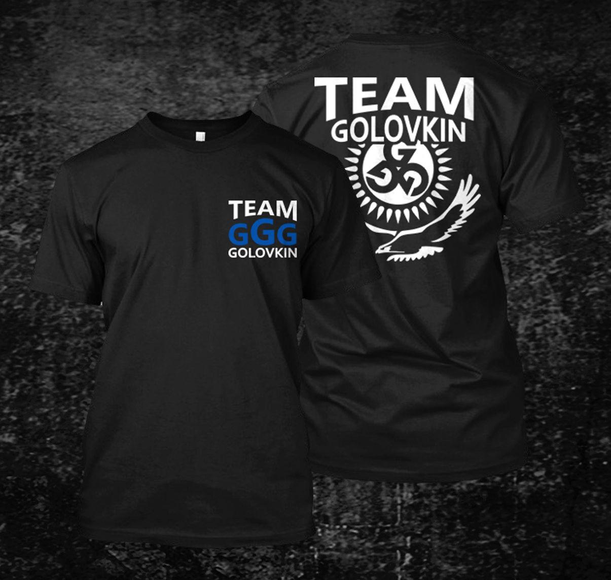 GGG Gennady Golovkin Team Boxinger футболка классная Повседневная хлопковая футболка с коротким рукавом модные футболки с принтом для мужчин Harajuku