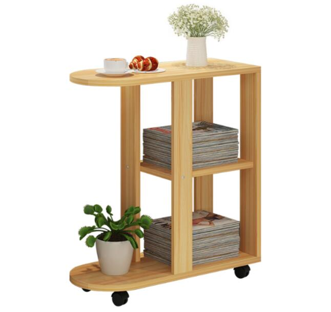 60x30x66CM Wood Bedside Table Modern Sofa Side Table Living Room Storage Cabinet With Wheels best price mgehr1212 2 slot cutter external grooving tool holder turning tool no insert hot sale brand new