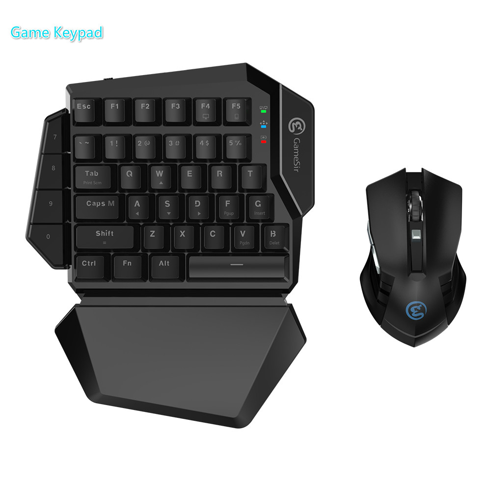 GameSir Z2 Gaming 2.4GHz Wireless Keypad and DPI Mouse For PUBG FPS Games Combo One-handed E-sports Keyboard For Android/WindowsGameSir Z2 Gaming 2.4GHz Wireless Keypad and DPI Mouse For PUBG FPS Games Combo One-handed E-sports Keyboard For Android/Windows