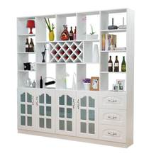 Esposizione Gabinete Mobili Per La Casa Storage Cristaleira Meja Desk Meube Armoire Commercial Furniture Shelf Bar wine Cabinet(China)
