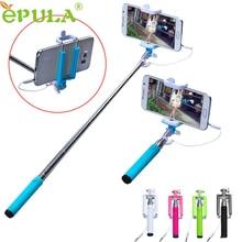 Hot sale EPULA Selfie Sticks Gifts 15 50cm Handheld Extendable Stick Tripod Monopod Stick For iPhone