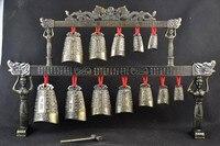 TNUKK Brass Bells Chinese Tibet Dragon Glockenspiel Chimes In Ancient Chinese Musical Instrument Metal Handicraft